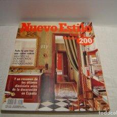 Coleccionismo de Revistas y Periódicos: NUEVO ESTILO ESPECIAL NÚMERO 200 - REVISTA DECORACIÓN. Lote 74545819