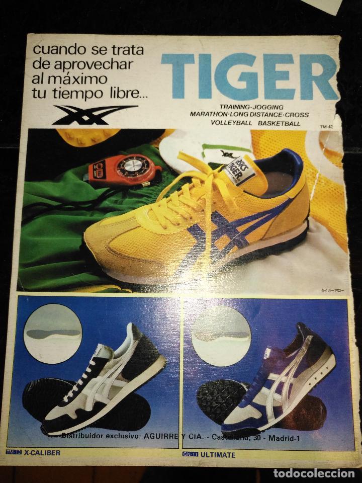 Marca Hoja Deportivas Años Zapatillas 70 PublicidadPublicitaria Tiger X0wkNnO8PZ