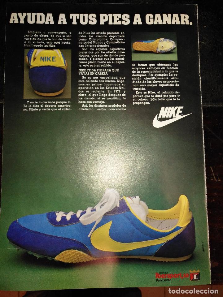 Hoja Deportivas Años PublicidadPublicitaria Marca 70 Nike Zapatillas fbyIgY76v