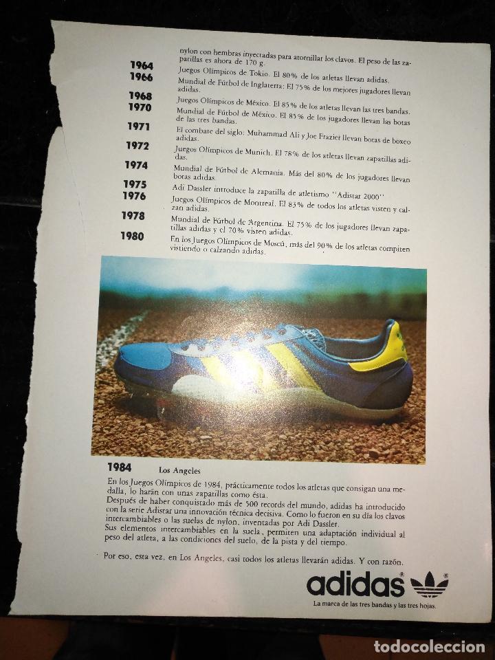 Marca 70 PublicidadPublicitaria Hoja Adidas Deportivas Años Zapatillas O0XN8Pknw