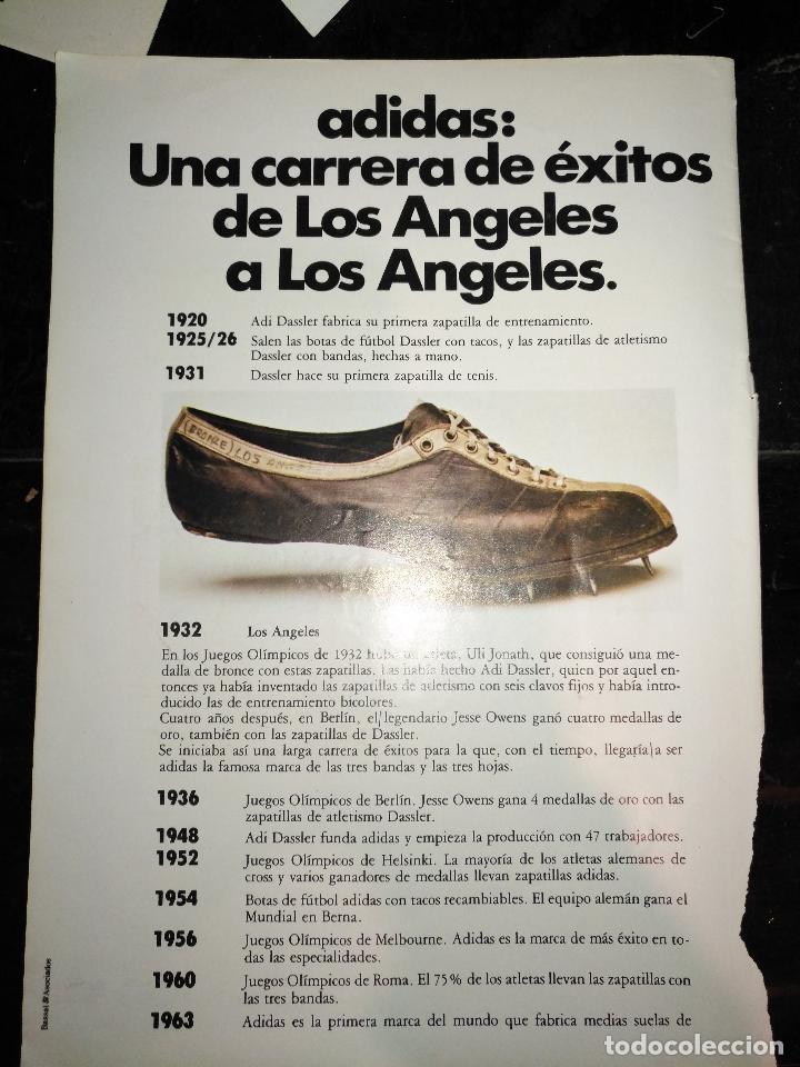 Deportivas Publicitaria Zapatillas 70 Marca Adidas Hoja Años Publicidad pnq5YxRw