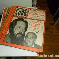 Coleccionismo de Revistas y Periódicos: LOTE DE 35 REVISTAS HERMANO LOBO. Lote 74708579
