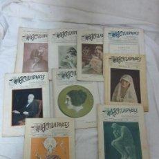 Coleccionismo de Revistas y Periódicos: LOTE 9 REVISTAS ANTIGUAS DE 1920, ACTIVIDADES, SOCIEDAD MECANOGRAFA MEXICO, REVISTA ORIGINAL. Lote 74957595