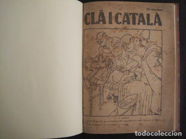 Coleccionismo de Revistas y Periódicos: REVISTA CLA I CATALA - ANY 1925 -COMPLERTA - 4 NUMEROS -CORNET .....-(V-8732) - Foto 4 - 74987823