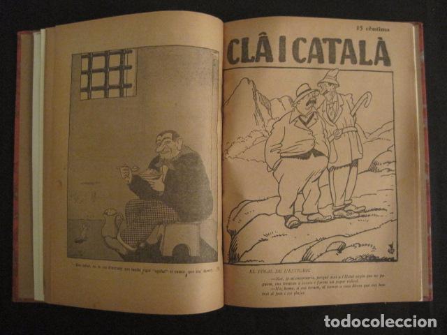 Coleccionismo de Revistas y Periódicos: REVISTA CLA I CATALA - ANY 1925 -COMPLERTA - 4 NUMEROS -CORNET .....-(V-8732) - Foto 7 - 74987823