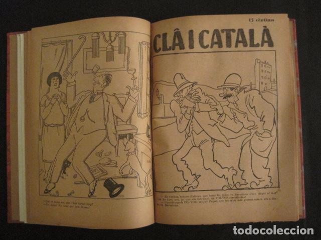 Coleccionismo de Revistas y Periódicos: REVISTA CLA I CATALA - ANY 1925 -COMPLERTA - 4 NUMEROS -CORNET .....-(V-8732) - Foto 10 - 74987823