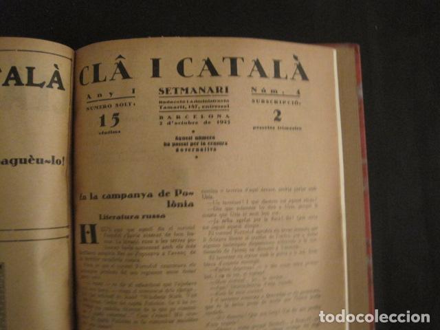 Coleccionismo de Revistas y Periódicos: REVISTA CLA I CATALA - ANY 1925 -COMPLERTA - 4 NUMEROS -CORNET .....-(V-8732) - Foto 13 - 74987823