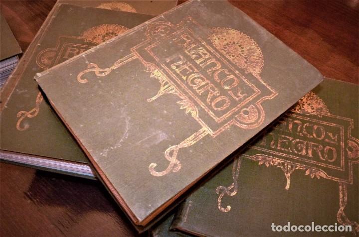 REVISTAS BLANCO Y NEGRO ENCUADERNADAS (Coleccionismo - Revistas y Periódicos Antiguos (hasta 1.939))