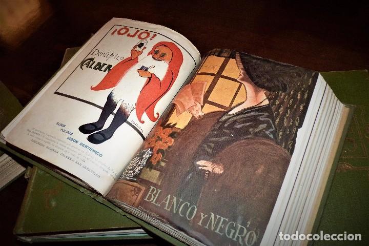 Coleccionismo de Revistas y Periódicos: Revistas Blanco y Negro encuadernadas - Foto 2 - 127064698