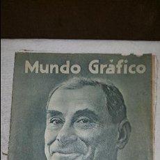 Coleccionismo de Revistas y Periódicos: MUNDO GRAFICO - 1923. Lote 73585819