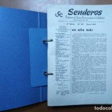 Coleccionismo de Revistas y Periódicos: REVISTA SENDEROS PORTAVOZ DE LA UNION EXCURSIONISTA DE CATALUÑA UEC AÑOS 1963, 1964 Y 1965. Lote 75215883