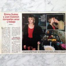 Coleccionismo de Revistas y Periódicos: RECORTE - EMMA SUÁREZ - 1996. Lote 75240891