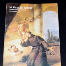 Coleccionismo de Revistas y Periódicos: REVISTA LA VOZ DE SAN ANTONIO. 1995. Lote 75305387