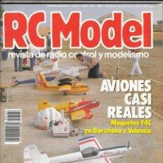 Coleccionismo de Revistas y Periódicos: REVISTA RC MODEL N 104 AÑO 1989. . Lote 75320567