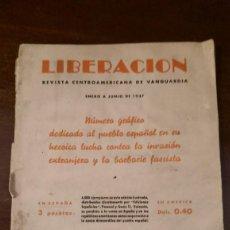 Coleccionismo de Revistas y Periódicos: LIBERACION 1937. Lote 75531867