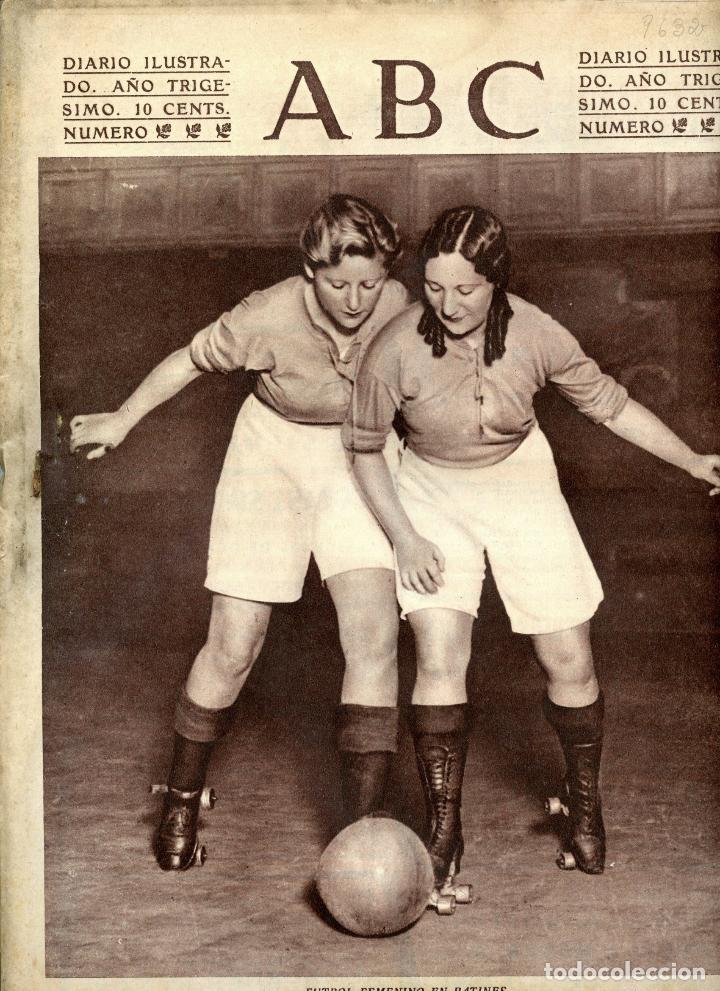 diario abc 7 de abril de 1934 futbol femenino e - Comprar Revistas y ... e2e0177360b3c