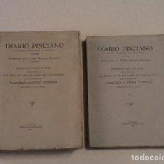 Coleccionismo de Revistas y Periódicos: DIARIO PINCIANO - PRIMER PERIÓDICO DE VALLADOLID (1787-88) - 2 TOMOS - REPRODUCCIÓN FACSÍMIL DE 1933. Lote 75586427