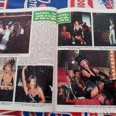 Coleccionismo de Revistas y Periódicos: RECORTE PEPA FLORES MARISOL . Lote 75641343