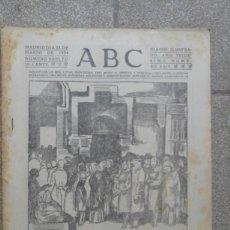 Coleccionismo de Revistas y Periódicos: ANTIGUO PERIDODICO DIARIO ESPAÑOL 1934 MADRID 23 MARZO NUMERO SUELTO 9619 VIERNES DE MARZO IGLESIA . Lote 75891527