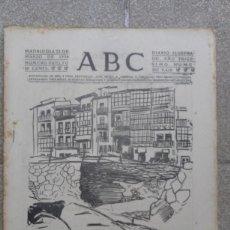 Coleccionismo de Revistas y Periódicos: ANTIGUO PERIODICO DIARIO ESPAÑOL ABC AÑO 1934 22 MARZO NUMERO SUELTO 9618 PUERTO BERMEO DESTROZOS. Lote 75892067