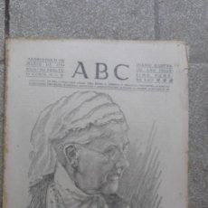 Coleccionismo de Revistas y Periódicos: ANTIGUO PERIODICO DIARIO ESPAÑOL EDICION TARDE ABC 21 MARZO 1934 REINA MADRE HOLANDA HA MUERTO. Lote 75892343