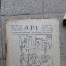 Coleccionismo de Revistas y Periódicos: ANTIGUO PERIODICO DIARIO ESPAÑOL MADRID AÑO 1934 NUMERO SUELTO 18 MARZO RINCONES DE MADRID. Lote 75892963