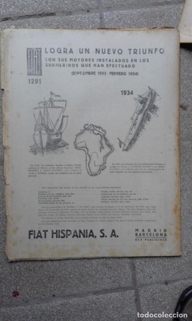 Coleccionismo de Revistas y Periódicos: Antiguo periodico diario Español madrid año 1934 numero suelto 18 Marzo Rincones de Madrid - Foto 3 - 75892963