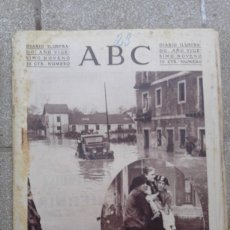Coleccionismo de Revistas y Periódicos: ANTIGUO PERIODICO DIARIO ABC ESPAÑOL MADRID 23 NOVIEMBRE DE 1933 INUNDACIONES EN VIZCAYA. Lote 75899303
