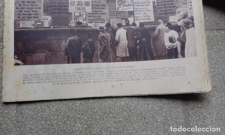 Coleccionismo de Revistas y Periódicos: Antiguo periodico diario español abc 20 novimebre de 1933 derechas y socialistas por madrid - Foto 2 - 75900695