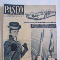 Coleccionismo de Revistas y Periódicos: REVISTA PASEO 1956 Nº 6. Lote 76006039