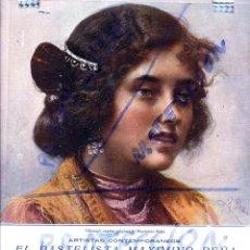 Coleccionismo de Revistas y Periódicos: MAXIMINO PEÑA 1917 ILUSTRACION HOJA REVISTA. Lote 76436595