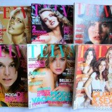 Coleccionismo de Revistas y Periódicos: TELVA. LOTE 6 REVISTAS AÑO 2007. NUMS 817,820,821,822,823,824. Lote 76452699