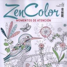 Coleccionismo de Revistas y Periódicos: ZEN COLOR N. 4 - MOMENTOS DE ATENCION (NUEVA). Lote 76525571