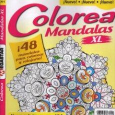 Coleccionismo de Revistas y Periódicos: COLOREA MANDALAS XL N. 2 - 48 MANDALAS PARA COLOREAR Y RELAJARTE (NUEVA). Lote 76655983