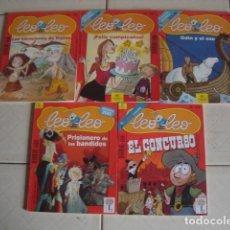 Coleccionismo de Revistas y Periódicos: LOTE DE 5 NÚMEROS, REVISTA INFANTIL LEO-LEO. 184, 187, 189, 200 Y 216. 2002-2006.. Lote 76760159