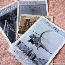 Coleccionismo de Revistas y Periódicos: THE SPHERE- 4 REVISTAS DE 1946- GUERRA MUNDIAL- EN INGLES-. Lote 76773755