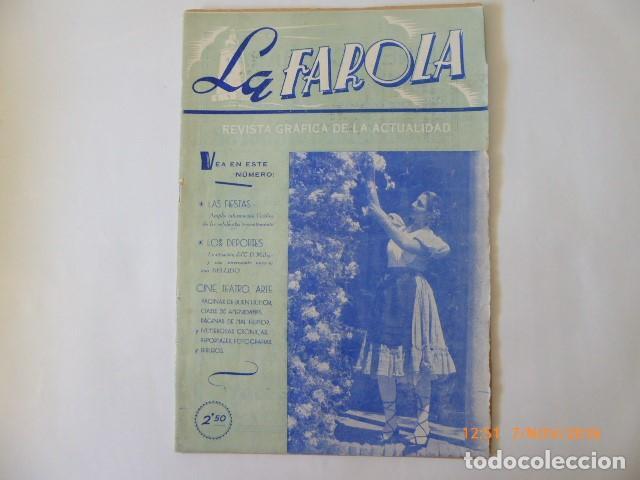 LA FAROLA, REVISTA DE MALAGA FEBRERO DE 1948. (Coleccionismo - Revistas y Periódicos Antiguos (hasta 1.939))
