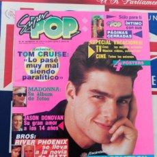 Coleccionismo de Revistas y Periódicos: RECORTE TOM CRUISE MADONNA. Lote 76915439