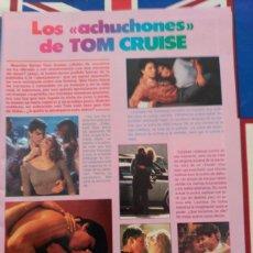 Coleccionismo de Revistas y Periódicos: RECORTE TOM CRUISE. Lote 76965405