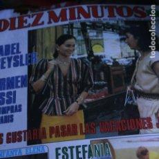 Coleccionismo de Revistas y Periódicos: VICTORIA VERA SARA MONTIEL REYES ANA OBREGON TINO CASAL FARRAH FAWCETT URSULA ANDRESS 1986. Lote 77213545