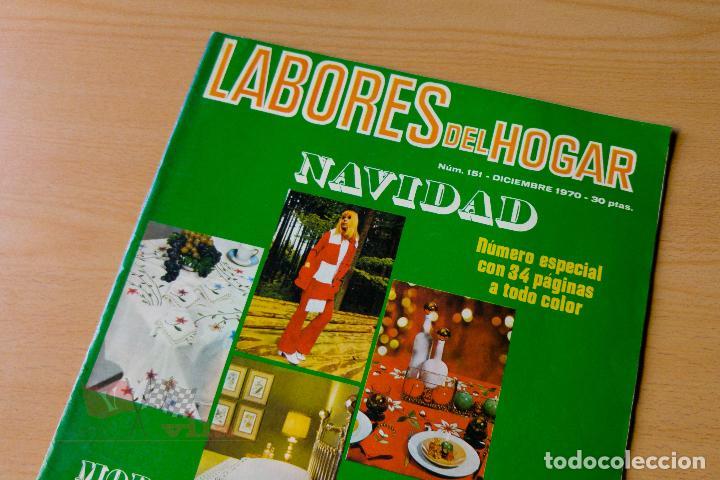 LABORES DEL HOGAR - Nº151- 1970 (Coleccionismo - Revistas y Periódicos Modernos (a partir de 1.940) - Otros)