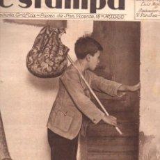 Coleccionismo de Revistas y Periódicos: REVISTA ESTAMPA 29 SEPTIEMBRE 1934. Lote 77302229