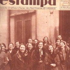 Coleccionismo de Revistas y Periódicos: REVISTA ESTAMPA 3 FEBRERO 1934. Lote 77302389