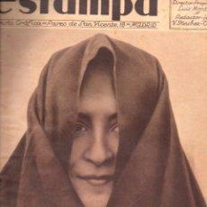 Coleccionismo de Revistas y Periódicos: REVISTA ESTAMPA 9 FEBRERO 1935. Lote 77302525