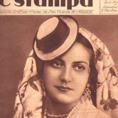 Coleccionismo de Revistas y Periódicos: REVISTA ESTAMPA 18 MAYO 1935. Lote 77302717