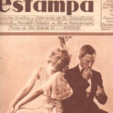Coleccionismo de Revistas y Periódicos: REVISTA ESTAMPA 1 ABRIL 1930. Lote 77302789