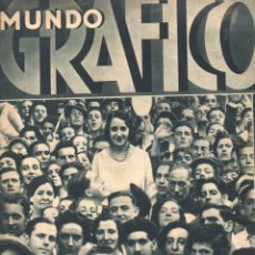 Coleccionismo de Revistas y Periódicos: MUNDO GRÁFICO 27 JULIO 1932. Lote 77303805