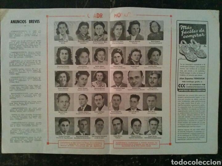Coleccionismo de Revistas y Periódicos: Revista Boletín para alumnos Academia CCC Agosto de 1947 - Foto 3 - 77360511