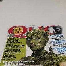 Coleccionismo de Revistas y Periódicos: REVISTA QUO. N ° 188. MAY 2011.. Lote 77582161