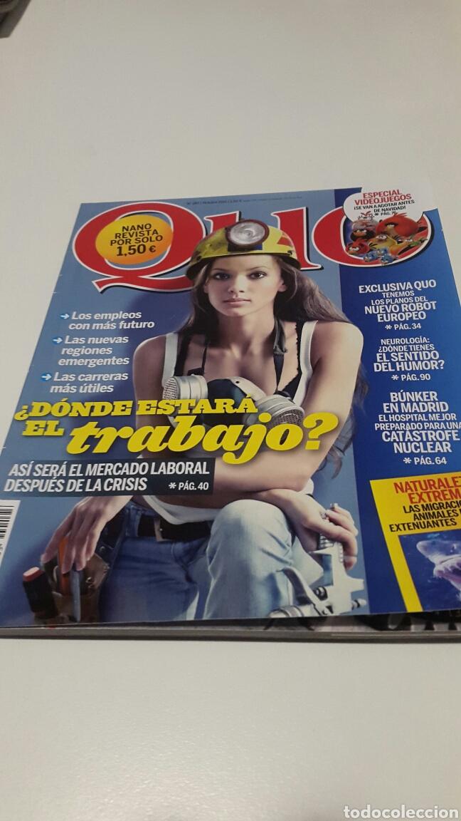 REVISTA QUO. N ° 193. OCT 2011. (Coleccionismo - Revistas y Periódicos Modernos (a partir de 1.940) - Otros)